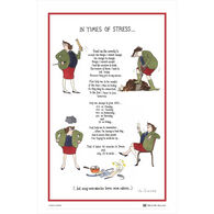 Samuel Lamont and Sons In Times of Stress Linen Union Tea Towel