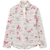 Joules Women's Fairdale Print Zip Neck Sweatshirt