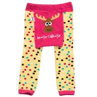 Lazy One Infant/Toddler Boys' & Girls' Moose Caboose Legging
