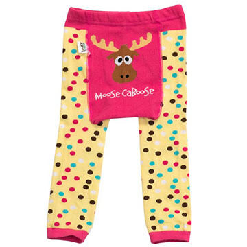 Lazy One Infant/Toddler Boys & Girls Moose Caboose Legging
