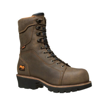 Timberland PRO Men's Rip Saw Waterproof Insulated Logger Boot, 400g