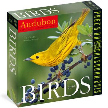 Audubon Birds 2019 Page-A-Day Calendar by Workman Publishing