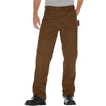 Dickies Mens Relaxed Fit Straight Leg Carpenter Duck Jean, 12 oz.