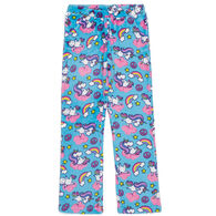 Candy Pink Girl's Yogacorn Pajama Pant