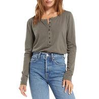 Z Supply Women's Andren Organic Long-Sleeve T-Shirt