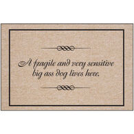 High Cotton Doormat - Fragile/Sensitive Dog