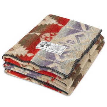 Woolrich Roaring Branch Jacquard Wool Blanket