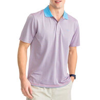 Southern Tide Men's Fort Frederik Striped Performance Pique Polo Short-Sleeve Shirt