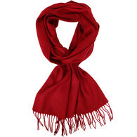 V Fraas Women's Essential Solid Oversized Cashmink Scarf