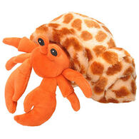 Wild Republic Hug'em Stuffed Animal - Hermit Crab