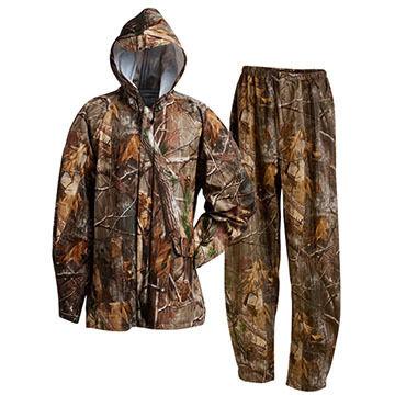 Onyx Mens PVC Camouflage Rainsuit