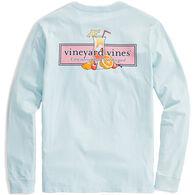 Vineyard Vines Men's Tequila Sunrise Logo Long-Sleeve Shirt