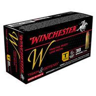 Winchester W Train & Defend 38 Special 130 Grain FMJ Training Handgun Ammo (50)