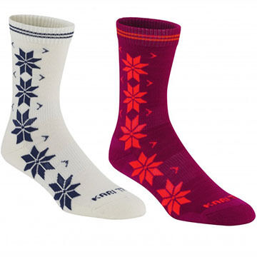 Kari Traa Womens Vinst Wool Sock, 2/pk
