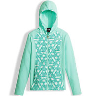 The North Face Girls' Glacier Full-Zip Fleece Hoodie