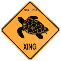 KC Creations Turtle XING Sign