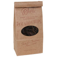Asher's Chocolates Dark Chocolate Smothered Potato Chips, 8.5 oz.