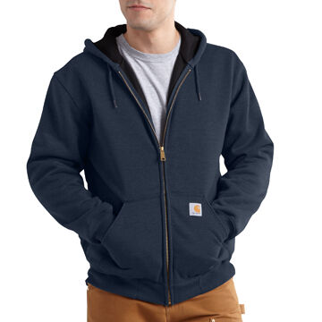 Carhartt Men's Big & Tall Rain Defender Rutland Thermal-Lined Hooded Zip-Front Sweatshirt