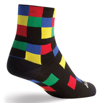 SockGuy Mens Champ Bicycling Sock
