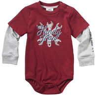 Carhartt Infant Boy's Handyman Long-Sleeve Bodyshirt