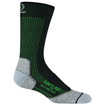 Farm to Feet Mens Damascus Lightweight Technical Crew Sock