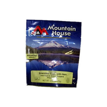 Mountain House Eggs Scrambled w/ Ham, Red & Green Peppers - 1 Serving