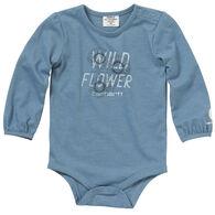 Carhartt Infant Girl's Wild Flower Long-Sleeve Bodyshirt