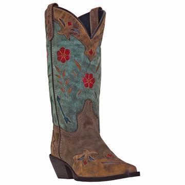 Dan Post Women's Laredo Miss Kate Western Floral Boot