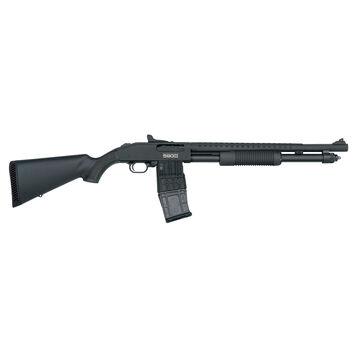 Mossberg 590M Mag-Fed Pump-Action Ghost Ring Sight 12 GA 18.5 Shotgun
