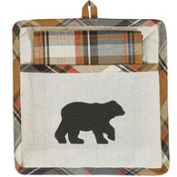 Park Designs Bear Pocket Pot Holder Set