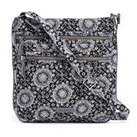 Vera Bradley Signature Cotton 21672 Iconic Triple Zip Hipster Bag