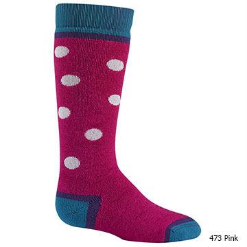 Wigwam Mills Girls Snow Dot Sock