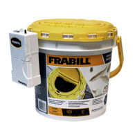 Frabill Dual Fish Bait Bucket w/ Clip-on Aerator