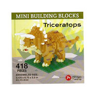 Impact Photographics Triceratops Mini Building Blocks