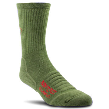 Farm to Feet Mens Harpers Ferry Light Targeted Cushion 3/4 Crew Sock