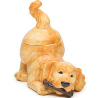 Big Sky Carvers Golden Retriever Cookie Jar