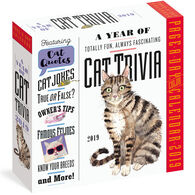 Cat Trivia 2019 Page-A-Day Calendar by Workman Publishing