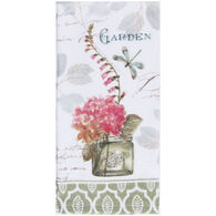 Kay Dee Designs Butterfly Flower Garden Terry Towel