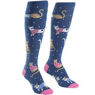 Sock It To Me Women's Business Cat-sual Sock