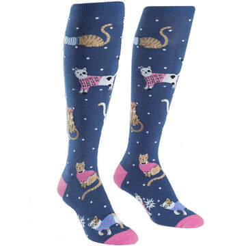 Sock It To Me Womens Business Cat-sual Sock