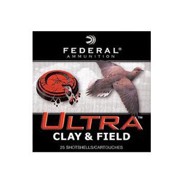 Federal Ultra Clay & Field 12 GA 1-1/8 oz. #8 3 Dram Shotshell Ammo (25)
