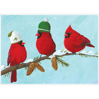 Allport Editions Three Cardinals Boxed Holiday Cards