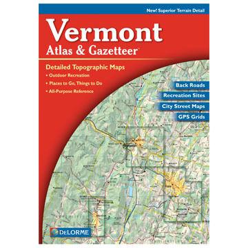DeLorme Vermont Atlas & Gazetteer