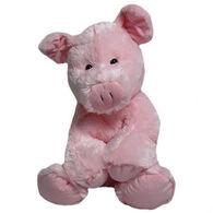 Wishpets Stuffed Sitting Pig