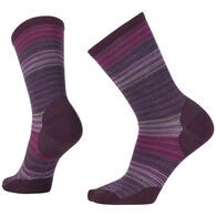 SmartWool Women's Horizon Stripe Crew Sock - Special Purchase