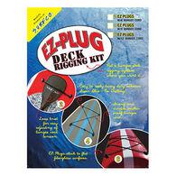 SurfCo Adhesive EZ Plug Deck Rigging Kit - 4 Plug