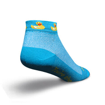 SockGuy Womens Ducky Bicycling Sock