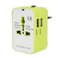 Travelon Worldwide Travel Adapter w/ Dual USB Chargers