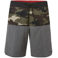 "Oakley Men's Camo Block 19"" Boardshort"