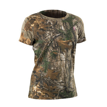 Browning Women's Wasatch For Her Short-Sleeve T-Shirt
